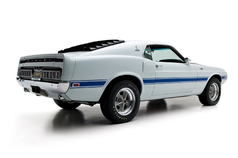 Shelby GT500 3 1970 Shelby GT500 Mustang Fastback