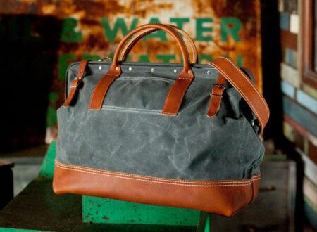 carry on bag stylish 450x330 - Wood & Faulk Northwesterner Bag