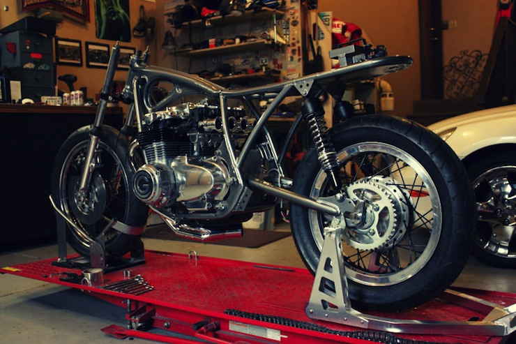 honda cafe racer 6 Cafe Racer by Goings Moto