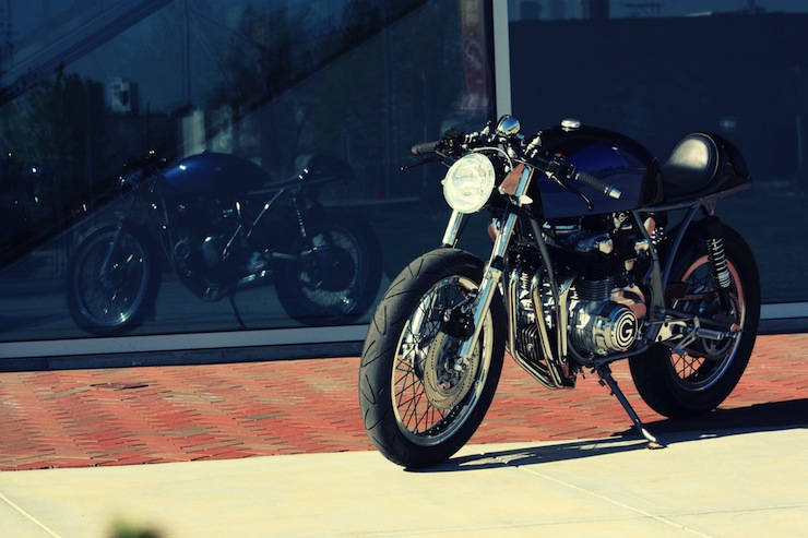 honda cafe racer 7 Cafe Racer by Goings Moto