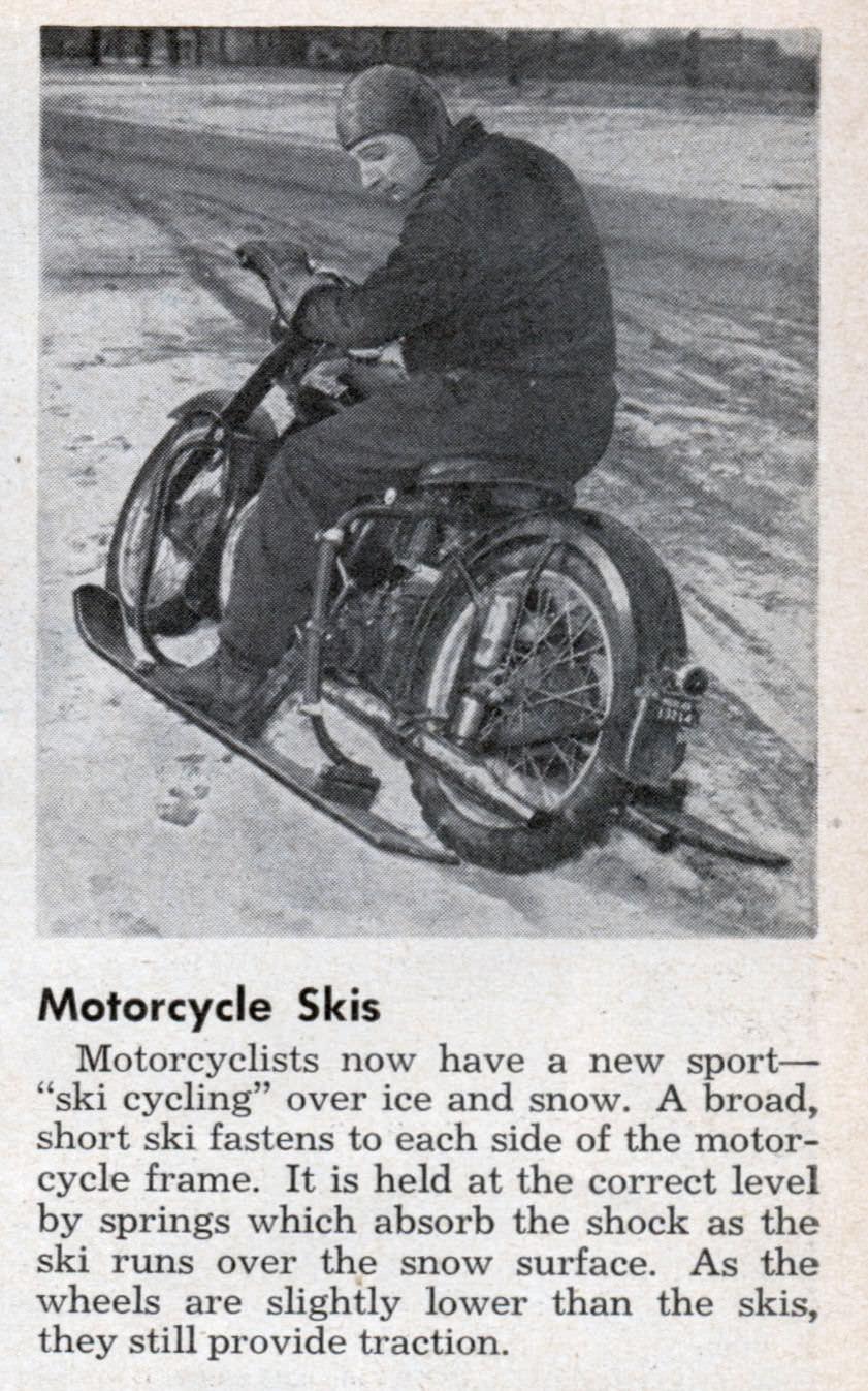 motorcycle skis