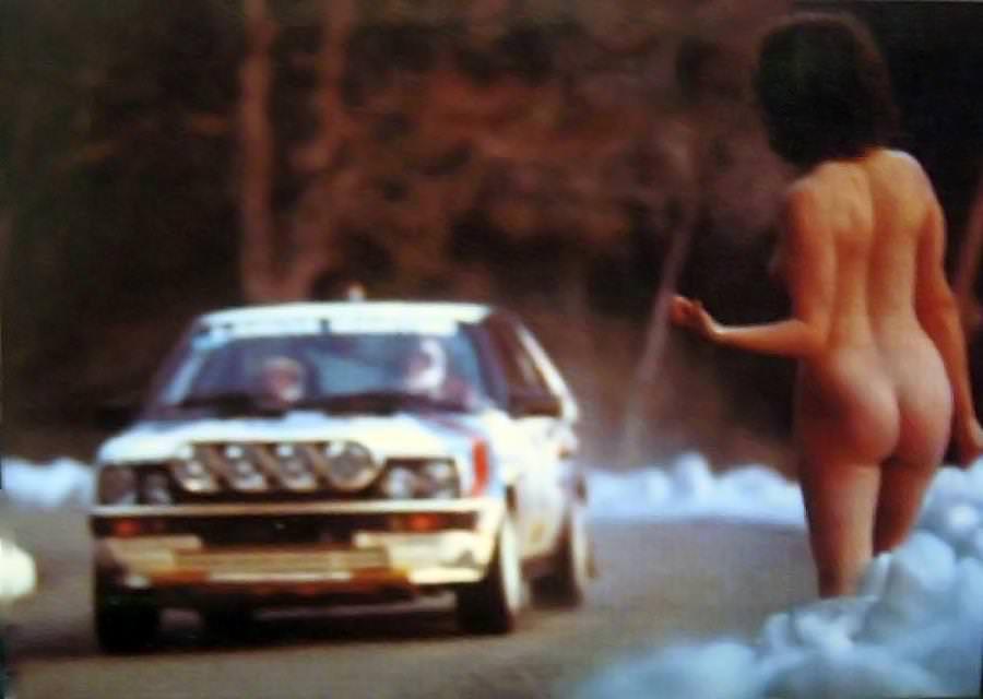 naked woman rally