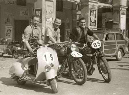 vespa scooter vintage 450x330 - Racing Vespa