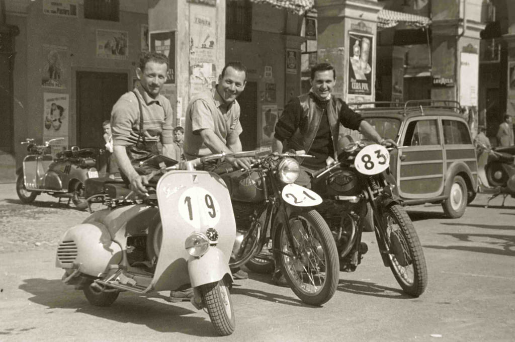 Racing Vespa Silodrome