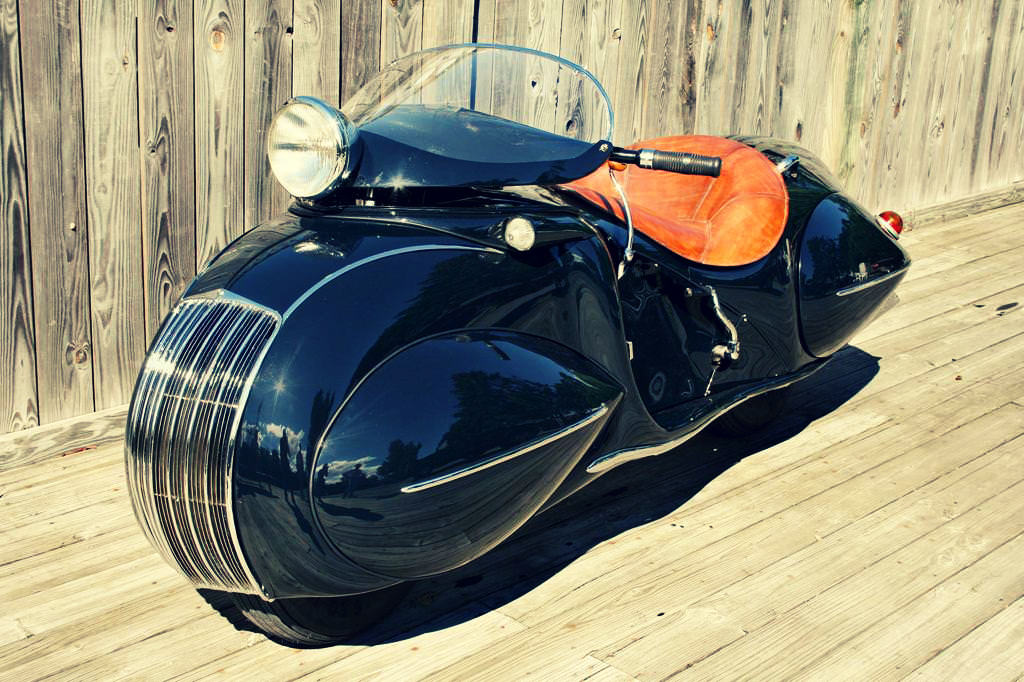 1930 Henderson Custom Motorcycle 3