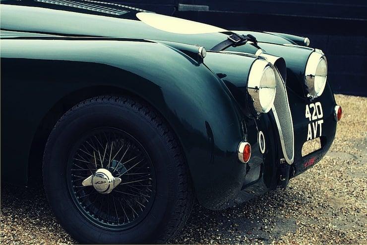 1956 Jaguar XK140 Fixedhead Coupe SE  1