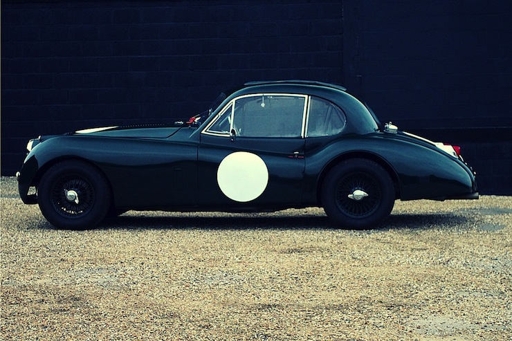 1956 Jaguar XK140 Fixedhead Coupe SE  2