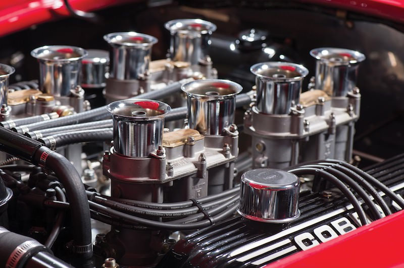 1966 Shelby 427 Cobra engine and carburettors