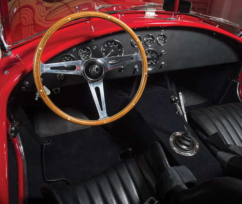 1966 Shelby 427 Cobra interior
