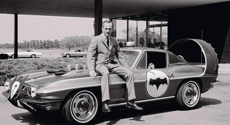 Chuck Jordan's Batmobile