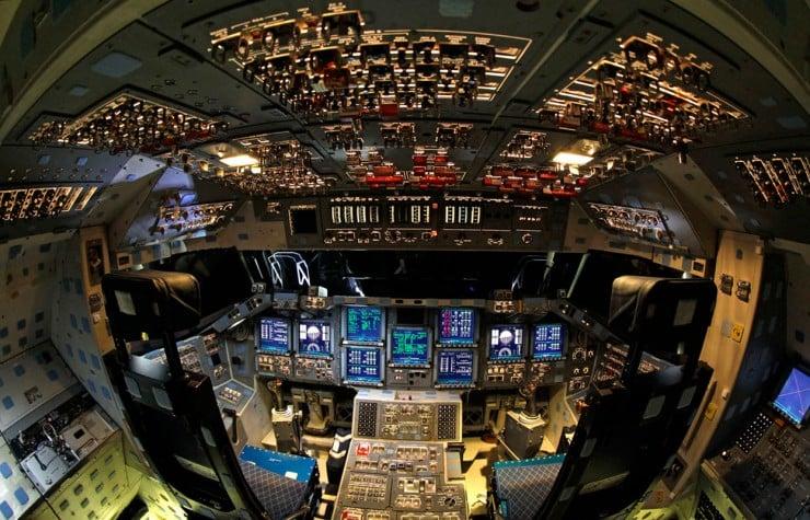 Endeavour Shuttle Cockpit