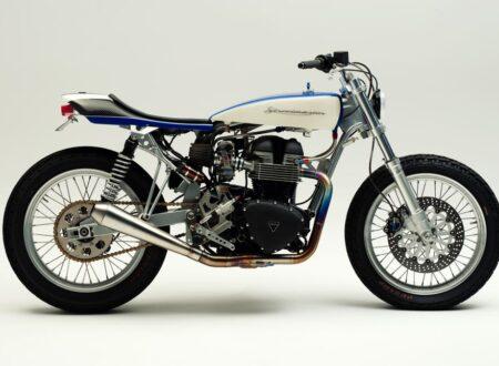 Flat-Tracker Motorbike