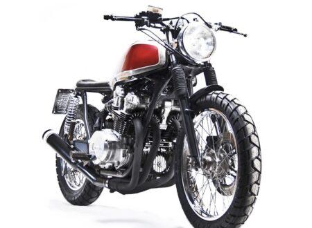 Honda CB750 Custom motorbike 1 450x330 - Honda CB750 Custom by MotoHangar