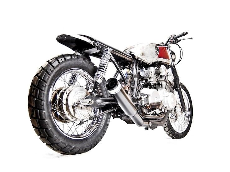 Honda CB750 Custom motorbike 2