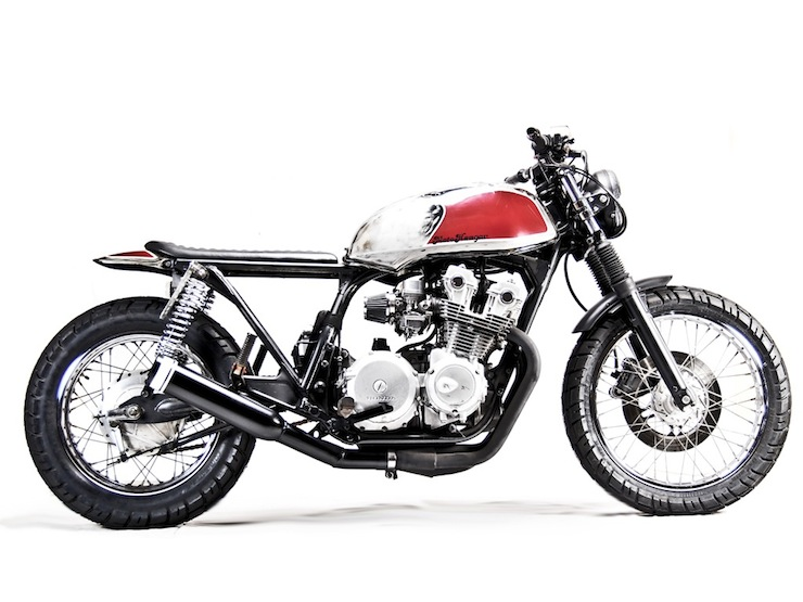 Honda CB750 Custom motorbike