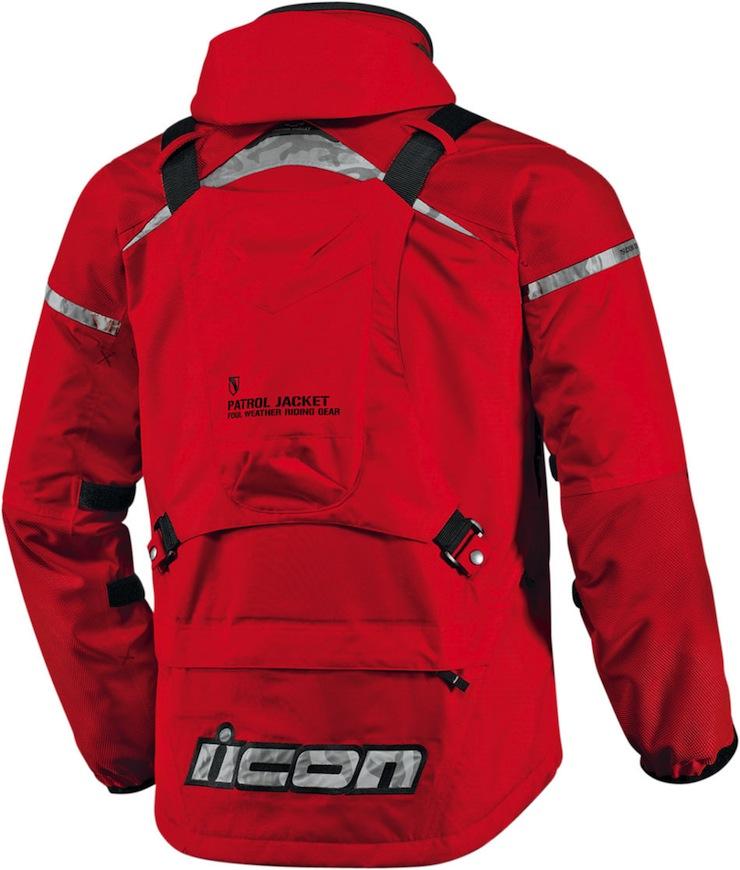 Patrol Waterproof Jacket Icon