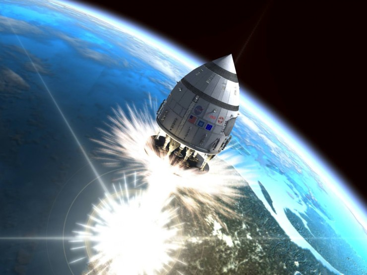 Project Orion Spacecraft