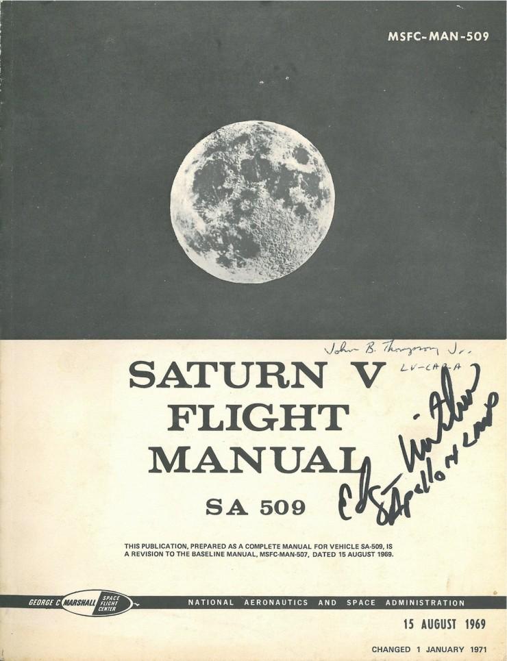 Saturn V Flight Manual  740x965 Saturn V Flight Manual