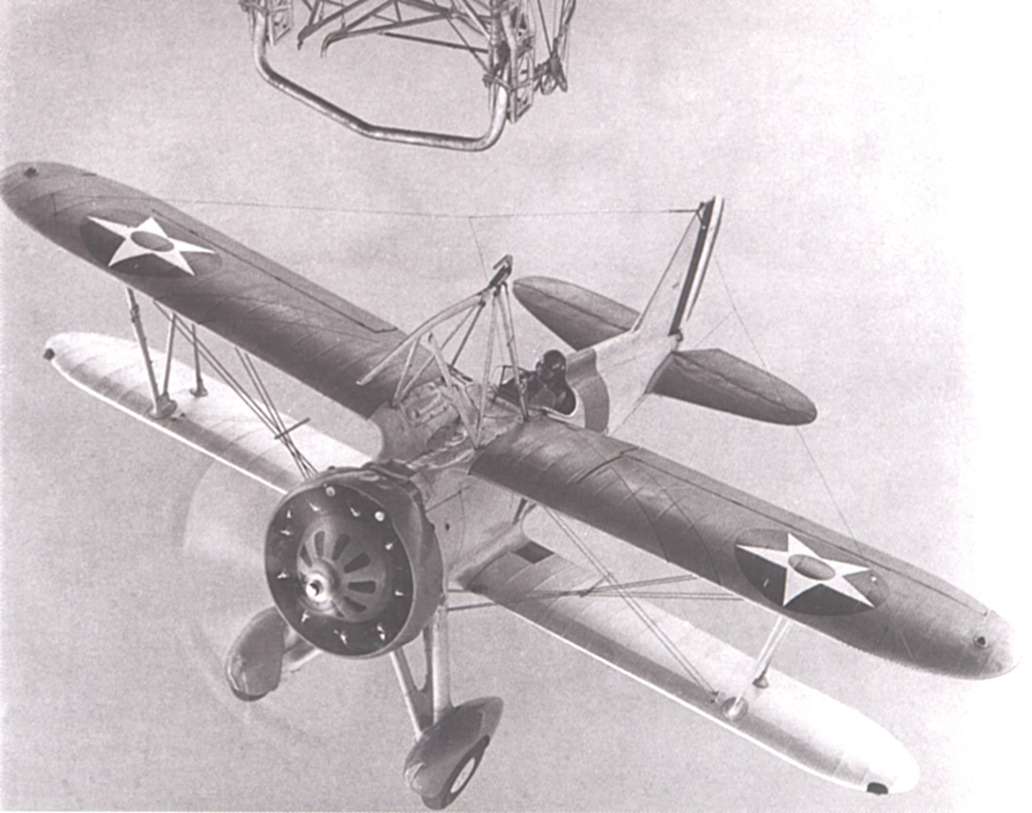 Sparrowhawk Airship Landing - USS Macon