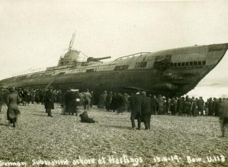 Sussex, Hastings, German Submarine U Boat U118 in 1919 - 1280pix