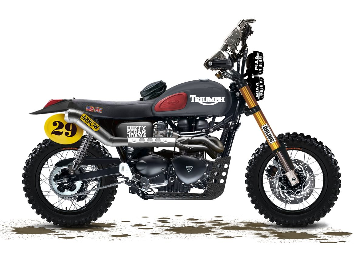 2013 triumph scrambler custom baja racer. Black Bedroom Furniture Sets. Home Design Ideas