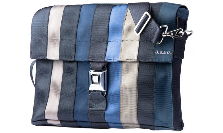 U.S.E.D Seatbelt Messenger Bag