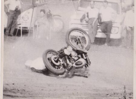 Vintage Motorcyle Racing Photos