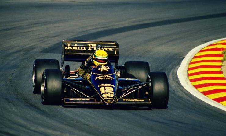ayrton senna 740x447 1985 San Marino Grand Prix   Full Length