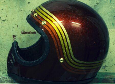 custom motorcycle helmet 450x330 - Bell Moto III Helmet by Chemical Candy