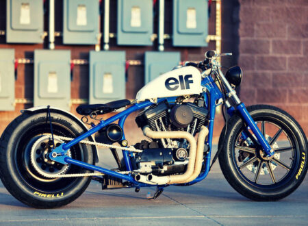 dp customs harley elf 2 450x330 - Harley 'Del Ray' by DP Customs