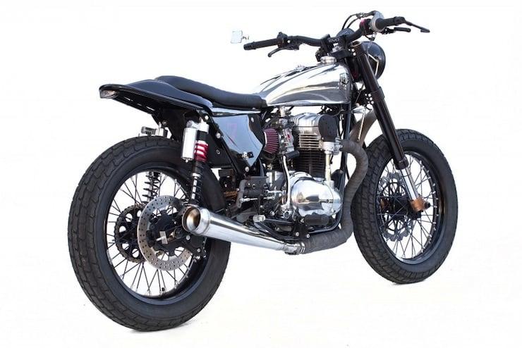 kawasaki w650 custom motorbike 1