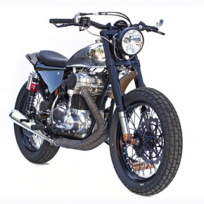 "W650 Custom ""Sevenish"" by Deus California"