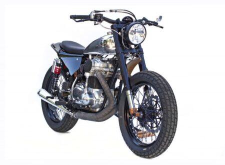 "kawasaki w650 custom motorbike 3 450x330 - W650 Custom ""Sevenish"" by Deus California"