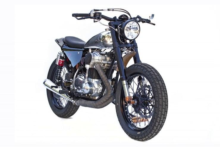 kawasaki w650 custom motorbike 3