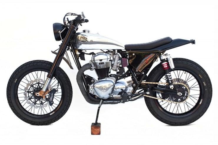 kawasaki w650 custom motorbike 4
