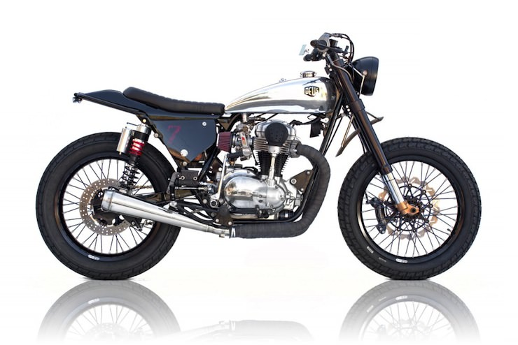 kawasaki w650 custom motorbike 5