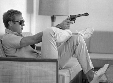 steve mcqueen 450x330 - Steve McQueen On The Couch