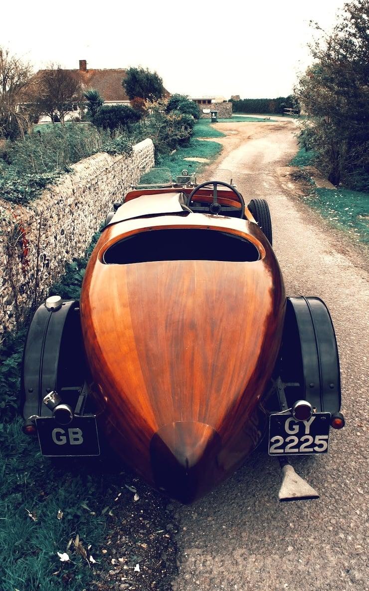 1932 talbot wooden car 1 1932 Talbot Boat Tail Tourer