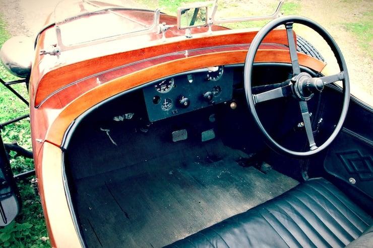 1932 talbot wooden car 2 1932 Talbot Boat Tail Tourer