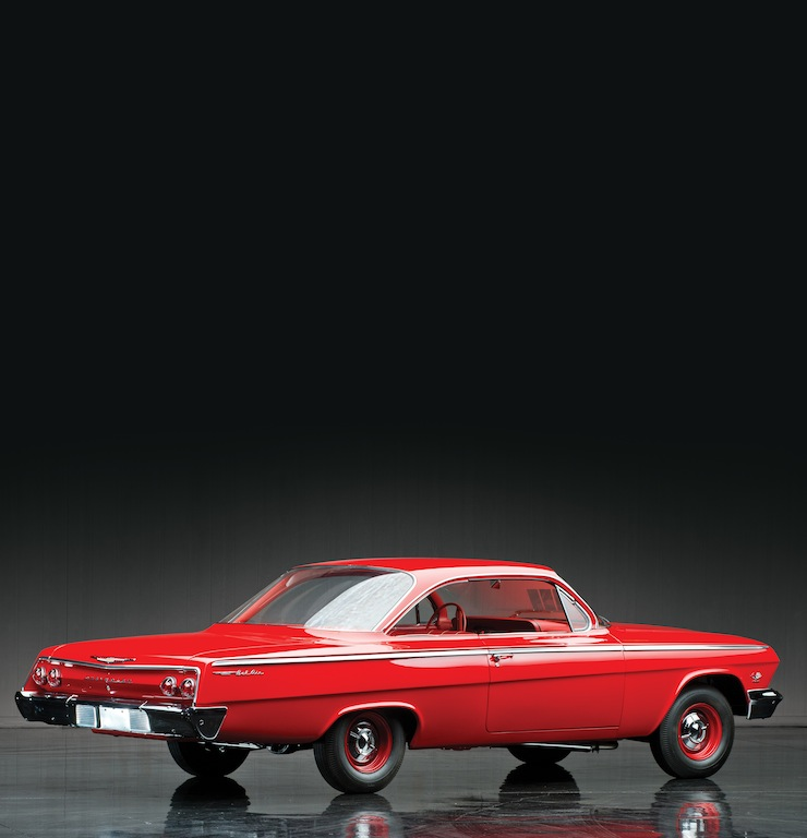 1962 Chevrolet Bel Air Sport Coupe 90