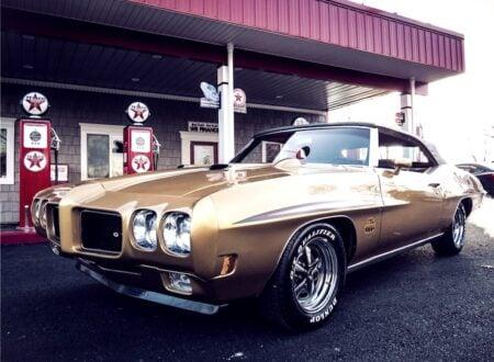 1970 Pontiac GTO convertible car