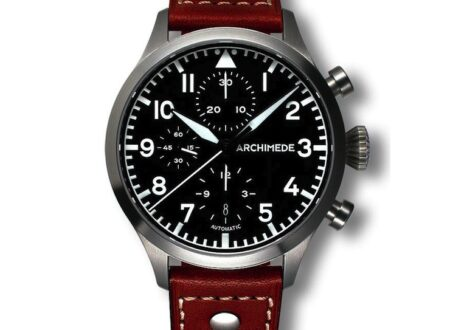 ARCHIMEDE Pilot Chronograph 450x330 - ARCHIMEDE Pilot Chronograph