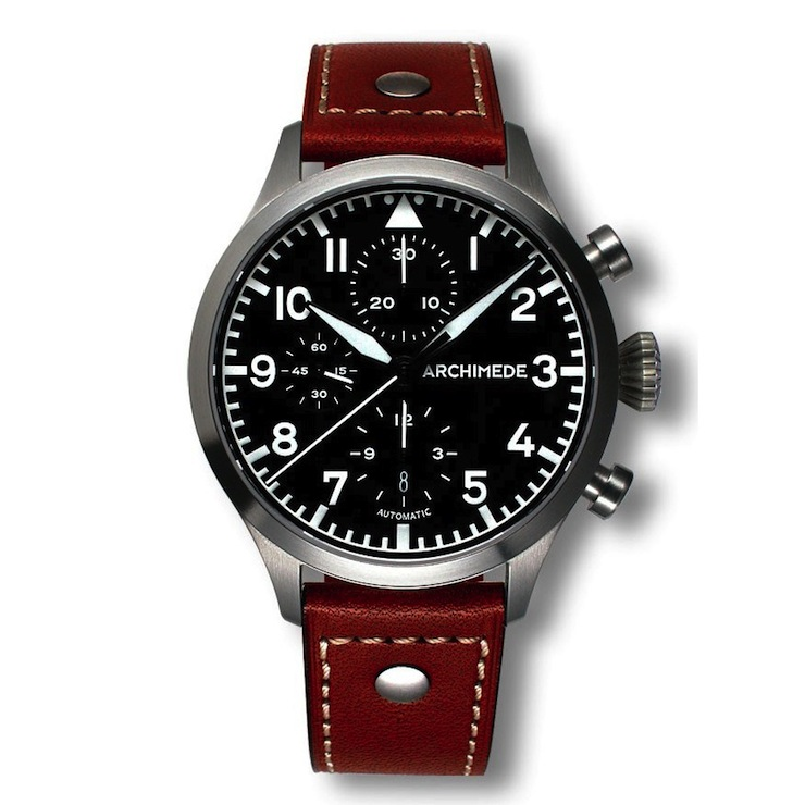 ARCHIMEDE Pilot Chronograph Watch