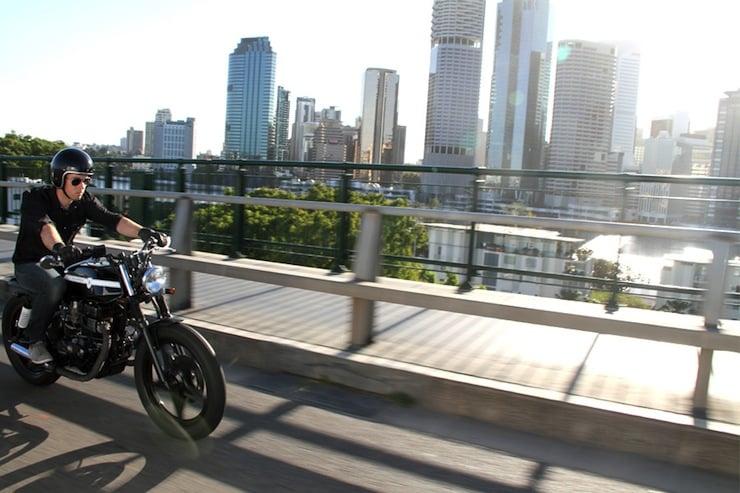 Honda CB250N Motorbike