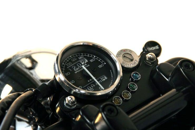 Honda CB250N Motorcycle speedo