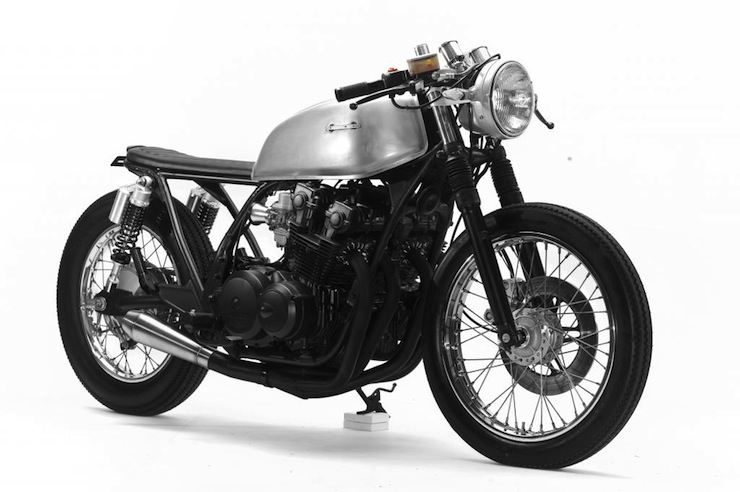 Honda CB750 Cafe Racer front right