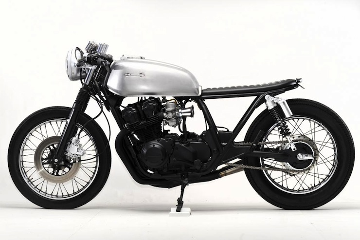 Honda CB750 Cafe Racer left side
