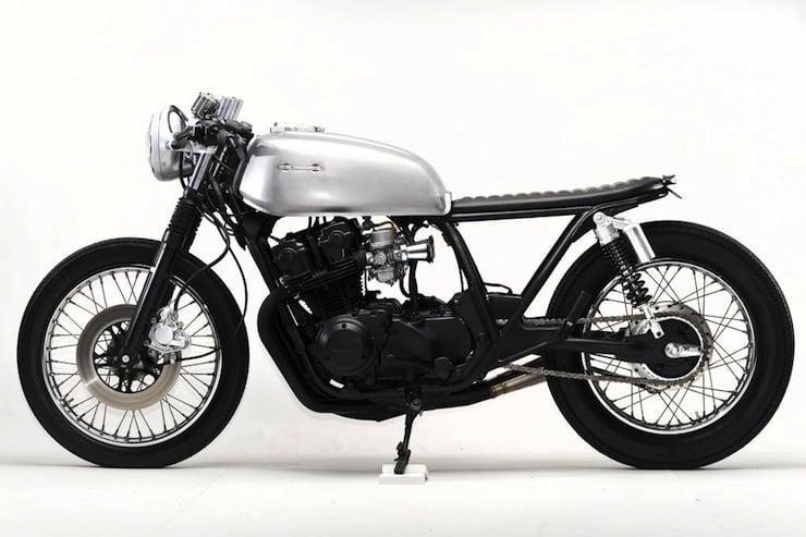 Honda CB750 Cafe Racer left side