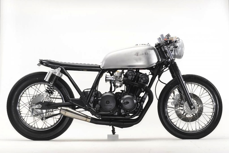 Honda CB750 Cafe Racer right side
