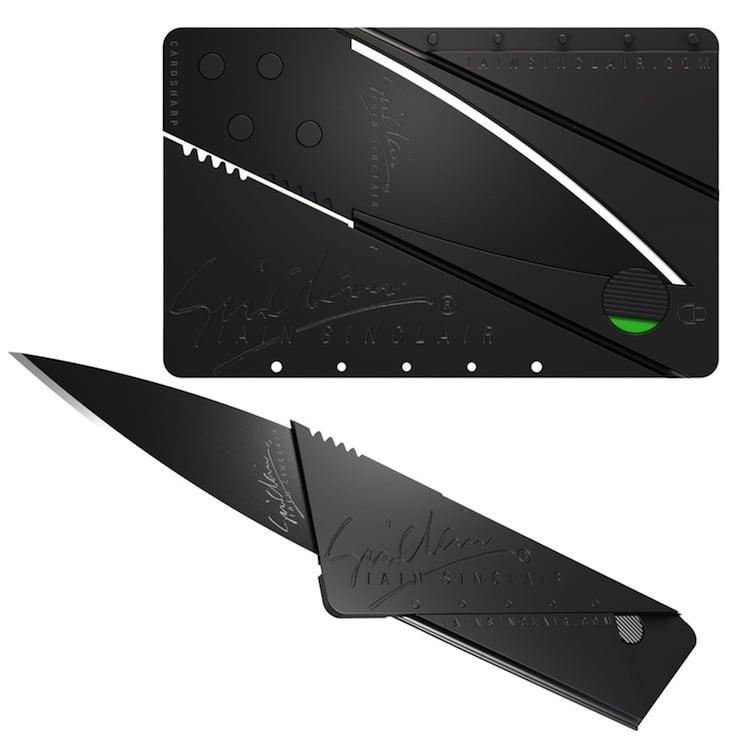 Iain Sinclair Cardsharp 2 Credit Card Knife